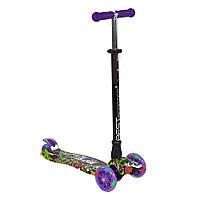 Самокат MAXI Best Scooter А 24646/779-1390, фиолетовый