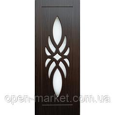 Модель Лотос, полотно остекленное, межкомнатные двери, Николаев