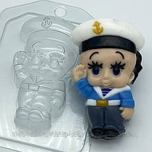 Пластикова форма Малюк / Моряк