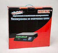 Весы ACS 50kg Matrix 4V, Весы торговые, Электронные весы для торговли, Электронные весы для товара, продуктов!