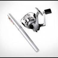 Мини-удочка складная походная в виде ручки fishPen спиннинг карманный! улучшенная