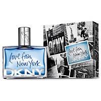 Мужская туалетная вода Donna Karan DKNY Love From New York For Men, 90 мл