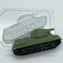 Форма пластикова Т-34 / бок