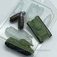 Форма пластиковая Т-34 МИНИ
