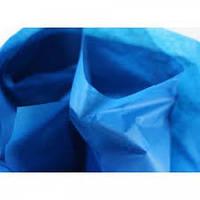 Тишью декоративная бумага 1лист, синяя (50*70 см)