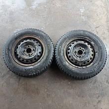 Диски колісні Daewoo Lanos Sens Деу Део Ланос Cенс + шини зимові пара 2шт R13 Tunga Extreme Contact Екстрім