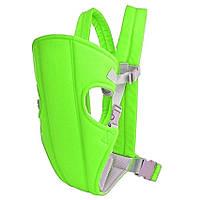 Слинг-рюкзак (носитель) для ребенка Babby Carriers Салатовый, цена улет