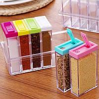 Подставка для специй, Кухонные подставки, Набор контейнеров для специй, Баночки для специй, Набор для специй!