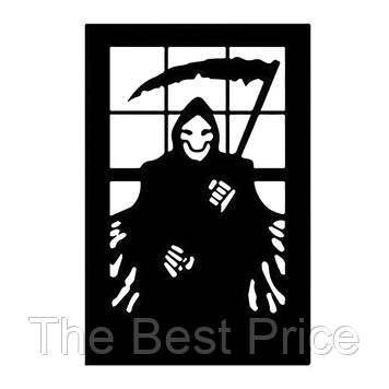 Интерьерная наклейка Смерть с косой 144 51х72см