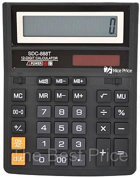 Настільний калькулятор SDC-888T (великий) (0426)