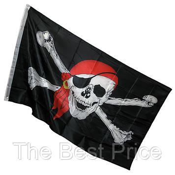 Пиратский Флаг 150х90см