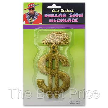 Доллар кулон на цепочке