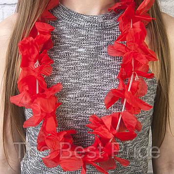 Гавайські леї Орхідеї (червоні)