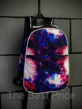 Рюкзак Space Городской космос синий mini