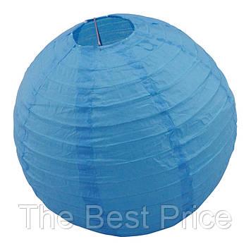 Декор підвісний Куля (25см) синій