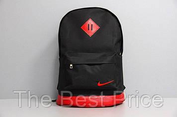 Рюкзак городской для ноутбука Nike черный-красный