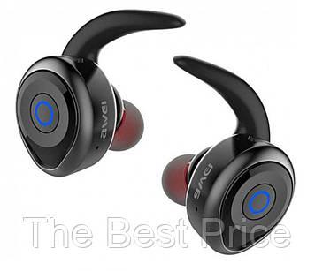 Bluetooth-навушники стереогарнітура Awei T1 Black (5015)