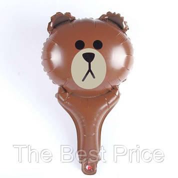 Кулька з надувний ручкою Ведмедик