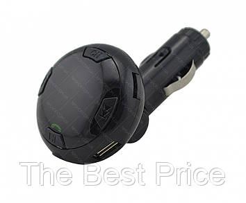 Трансмиттер автомобильный FM MP3 MOD Q8 Bluetooth Black