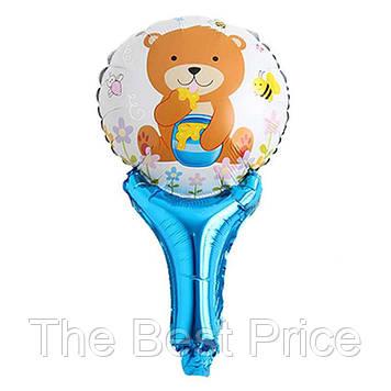 Кулька з надувний ручкою Ведмедик з медом