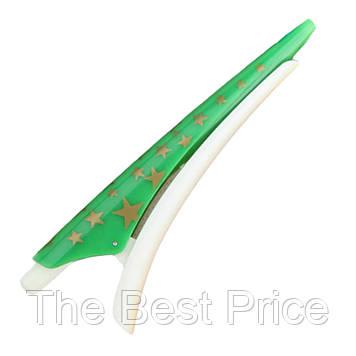 Ручка Заколка (зеленая)