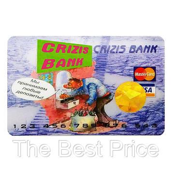 Прикольна Кредитка Crizis Bank