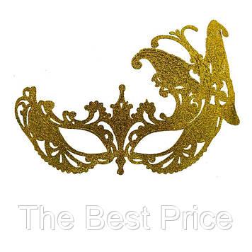 Венеціанська маска Баттерфляй (золото)