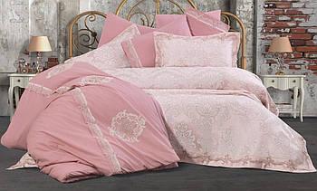 Набор покрывало + постельное белье Ayberk Aygun Pudra