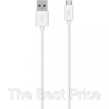Кабель Belki n USB - micro USB 1 метр White