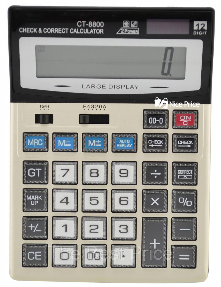 Большой настольный калькулятор CT-8800