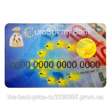 Прикольная Кредитка EuroSperm Bank