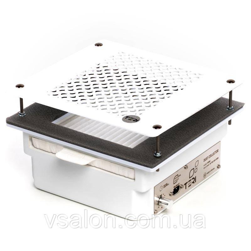 Вбудована манікюрна витяжка з HEPA фільтром Teri Turbo (сітка біла)