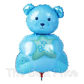 Кулька 35см Ведмедик на паличці