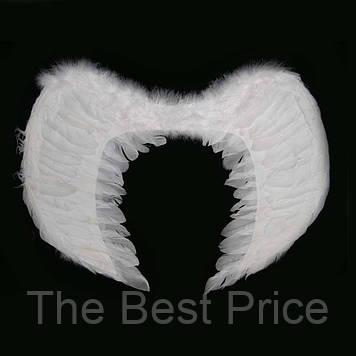 Крылья Ангела Средние 55х35см (белые)