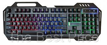 Клавиатура с подсветкой KW-900 Black