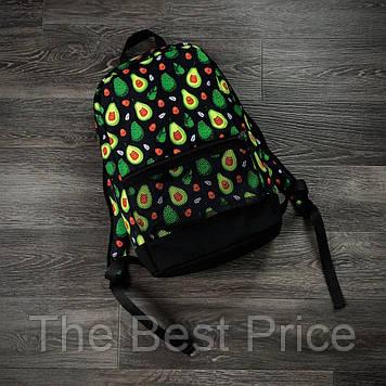 Рюкзак Городской для ноутбука авокадо черный