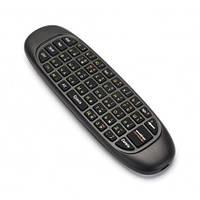 Пульт-мышь с клавиатурой KEYBOARD + Air mouse, пульт клавиатура, Беспроводная мини клавиатура! улучшенная