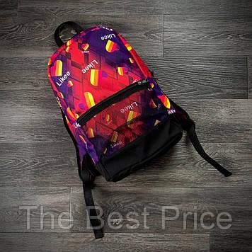 Рюкзак Likee Городской для ноутбука фиолет
