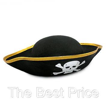 Шляпа детская Пирата фетр