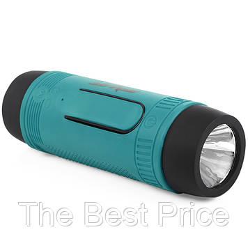 Водонепроникна портативна bluetooth колонка Zealot S1 c ліхтариком (випадковий колір) (5545)