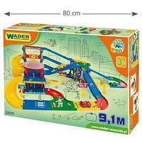 Игровой набор Wader - Kid Cars 3D детский мультипаркинг с трассой 9,1 м
