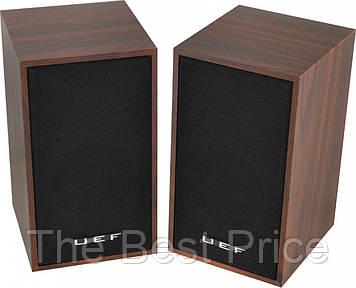Комп'ютерні колонки акустика UEF D9a (коричневе дерево) (3950)
