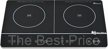 Электроплита индукционная Domotec MS-5872 4000W Silver