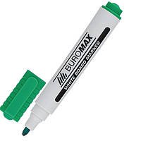 Маркер для доски BuroMax 2-4 мм зеленый ВМ.8800-04