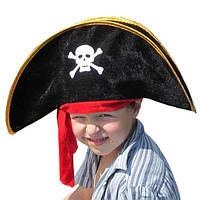 Капелюх дитяча Пірат з пов'язкою