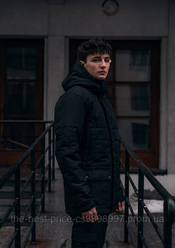 Демісезонна Куртка Waterproof Intruder (чорний)