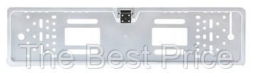 Камера заднего вида в рамке номерного знака A58 4 Led серебряный