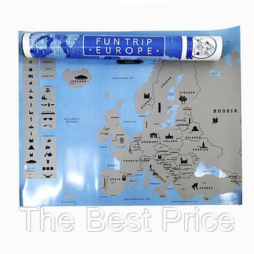 Скретч карта ЄВРОПИ