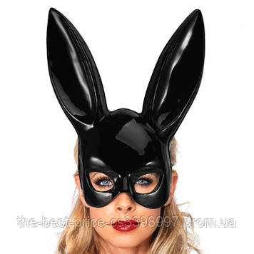 Маска Кролик PlayBoy (черная)