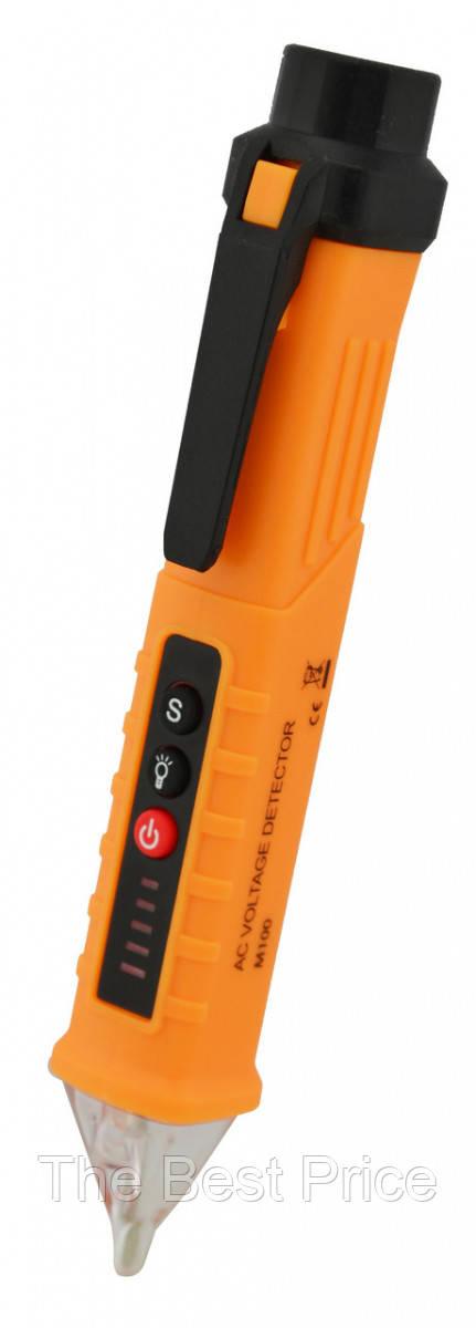 Бесконтактный тестер напряжения со световой и звуковой индикацией M100